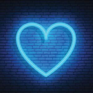 neon-blue-heart